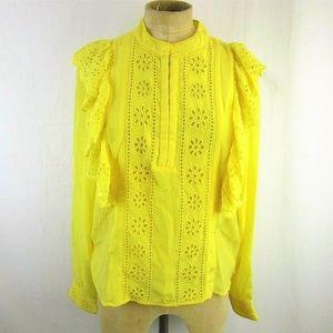 New Scotch & Soda Sunny Yellow Blouse~S~$178
